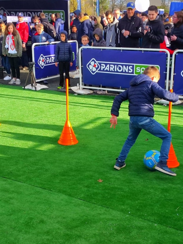stand foot parcours